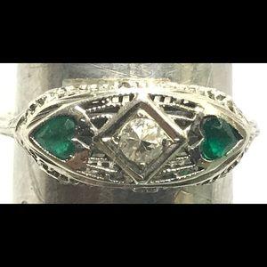 Vintage 18 kt ring